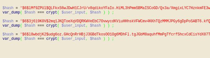 Šifruojam slaptažodžius