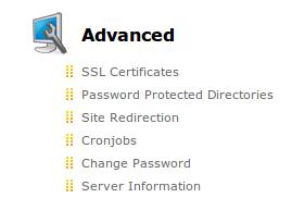 DirectAdmin SSL certificates